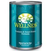 Wellness Case of Venison & Sweet Potato Wet Dog Food