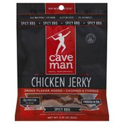 Caveman Chicken Jerky, Spicy BBQ, Chopped & Formed