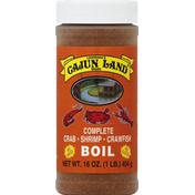 Cajun Land Crab/Shrimp/Crawfish Boil, Complete