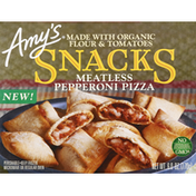 Amy's Kitchen Snacks, Meatless Pepperoni Pizza