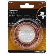 Hillman Group Wire, Copper, 16 Gauge