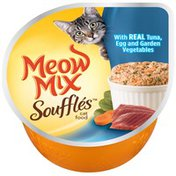 Meow Mix Souffles with Real Tuna Egg and Garden Vegetables Wet Cat Food