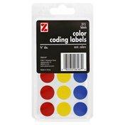 Z Labels, Color Coding, Asst. Colors