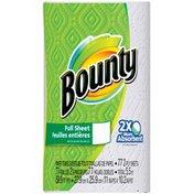 Bounty Basic Paper Towels, White, 1 Super Plus Roll Towels/Napkins
