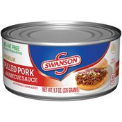 Swanson's Premium Pulled Pork in Barbecue Sauce with Smoke Flavor Added