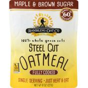 Rambling Oat Oatmeal, Maple & Brown Sugar, Steel Cut
