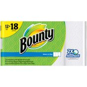 Bounty Select-A-Size Paper Towels, White Bounty Select-A-Size Paper Towels, White