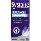 Systane Eye Drops, Lubricant, Clinical Strength