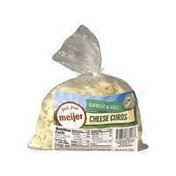 Meijer Garlic & Dill Cheese Curds