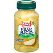 Libby's Bartlett In Light Syrup Pear Slices