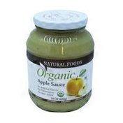 Natura Foods Organic Applesauce