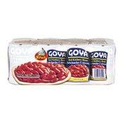 Goya Premium Red Kidney Beans, 8 Pack