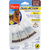 Hartz Dual Action Topical For Dogs & Puppies 61 TO