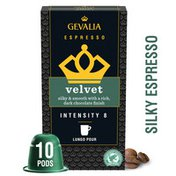 Gevalia Velvet Premium Coffee Pods for Nespresso® OriginalLine® Brewer