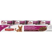Hill's Science Diet Dog Food, Premium, Beef & Barley Entree, Adult 1-6, Ground