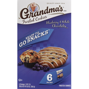 Grandma's Blueberry & White Chocolate Frosted Cookies