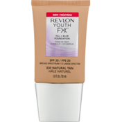 Revlon Youth FX Fill + Blur Foundation SPF 20 Natural Tan 330