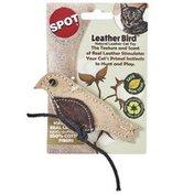 ETH Leather Bird Cat Toy