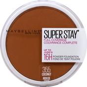 Maybelline Powder Foundation, Full Coverage, Coconut 355