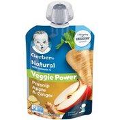 Gerber Natural with Vitamin C Veggie Power Parsnip Apple & Ginger Baby Food