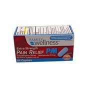 Family Wellness Ready In Case Extra-Strength Pain Reliever PM