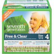 Seventh Generation Diaper Spring Jumbo Stage 4