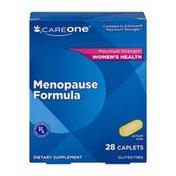 CareOne Menopause Formula Caplets - 28 CT