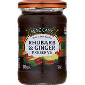 Mackays Preserves, Rhubarb & Ginger