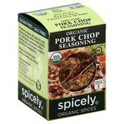 Spicely Organics Seasoning, Organic, Pork Chop