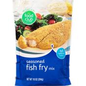 Food Club Fish Fry Mix, Seasoned