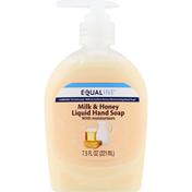 Equaline Liquid Hand Soap, Milk & Honey
