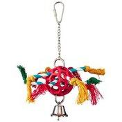 "JW Pet Hol Ee Roller Pinata Bird Toy 7"" Diameter"