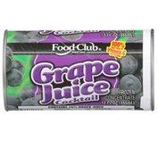 Food Club Grape Juice Cocktail Frozen Concentrate