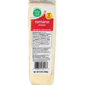 Food Club Cheese, Romano
