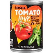 Red Gold Tomato Love Original 2x More Chilies + Diced Tomatoes
