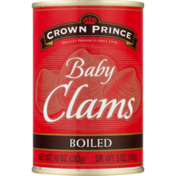 Crown Prince Baby Clams Boiled