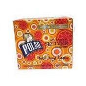 Polar Blood Orange Sangria 100% Natural Seltzer