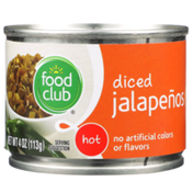 Food Club Hot Diced Jalapenos