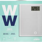 Ww Scale, Glass, Digital