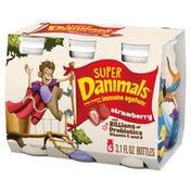 Danimals Super Strawberry Smoothies