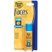 Banana Boat SPF 30 Faces Plus Sunscreen