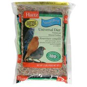 Hartz Small Bird Universal Diet, Vitamin and Mineral Fortified