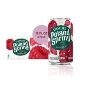 Poland spring Sparkling Water, Raspberry Rose