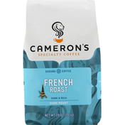 Camerons Coffee, Ground, Dark Roast, French Roast