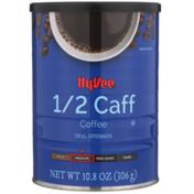 Hy-Vee Medium Roast 1/2 Caff 100% Ground Coffee