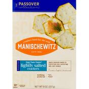 Manischewitz Crackers, Lightly Salted