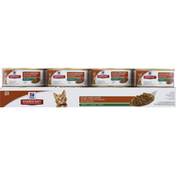 Hill's Science Diet Cat Food, Savory Turkey Entree, Minced, Kitten (Less than 1)