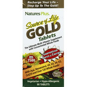 Nature's Plus Multi-Vitamin Supplement, Gold, Tablets