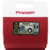 Igloo Cooler, 7 Quart, Red