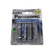 Panasonic Super Heavyduty AA Batteries